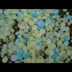 Флуоресцентный фосфоресцирующие стекла кнопки что свет вверх в темноте для decorazone