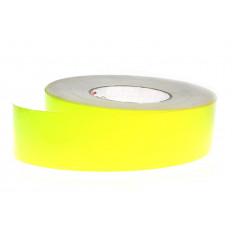 Filme fita adesiva alta visibilidade fluorescente amarela 3M ™ 25mm/50mm