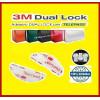 SJ dual lock 3 m ™ selbstklebende Velcro 3560 4 einzelne Teile für Auto-Windschutzscheibe Telepass Rahmen