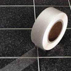 Fita adesiva antiderrapante transparente para banheiro