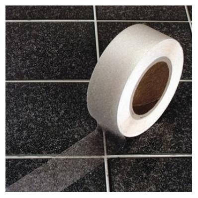 Strisce nastro pellicole adesive antiscivolo trasparente 25mm larghezza