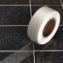 Antiderrapante adesiva transparente fita listras aqua seguro para ambientes molhados e escorregadios 25mm