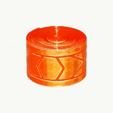 Reflexite ® GP 340 Prism Tape for high visibility clothing approved 50 mm x 50 m Orange EN471