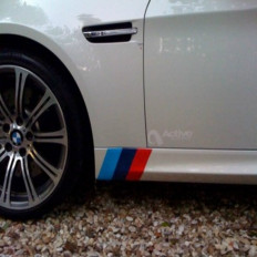 BMW M3 stickers for BMW Series E39 E46 E90 X3 X5 X6 1 3 5 6