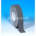 Láminas adhesivas antideslizantes cinta rayas gris plata 25 mm x 6 Mt o 18 Mt