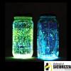 Acrylique peinture phosphorescente d'additif luminescent brille dans l'obscurité pour loisirs