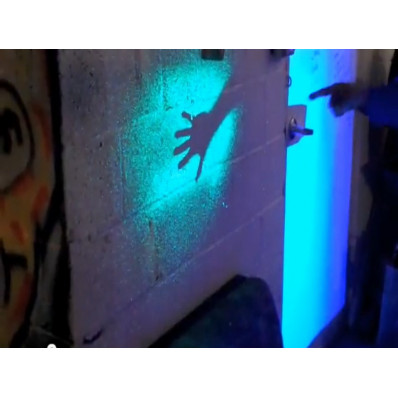 Phosphorescent Spray paint glows in the dark in 4 colours Shop