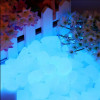 Drops Sassi luminosi di resina fotoluminescente colore Blu Sky per arredo 50/100 pezzi