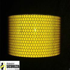 Reflexions-Lichtschranken tape Gelb 50 mm Klasse 2 Berichterstattung