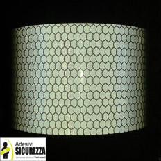 Светоотражающая лента светоотражающая отчетности Белый 50 мм 2 класса