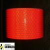 Отражающая клейкая лента красный сигнализации 50 мм Класс 2