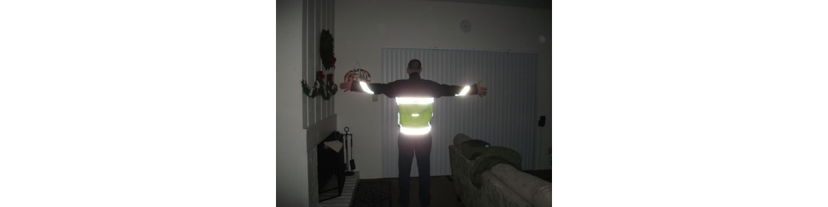 Nastro termosaldabile rifrangente/fluorescente