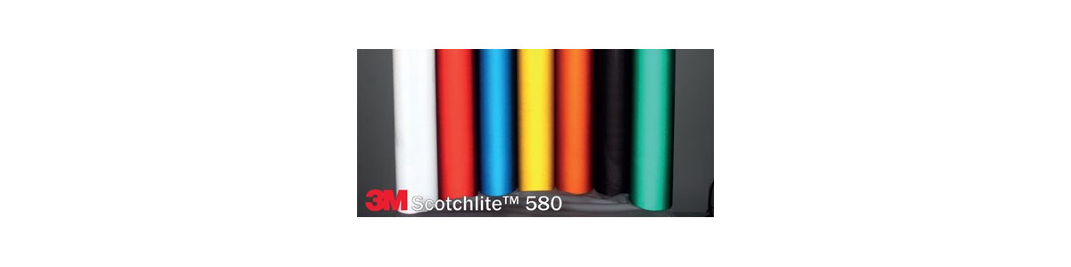 Approved 3M™ series 580 scotchlite reflective films