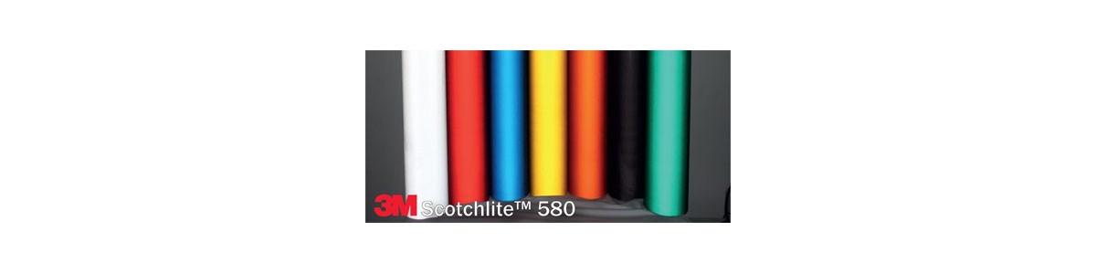 Aprovado filmes reflexiva de 3M™ série 580 scotchlite