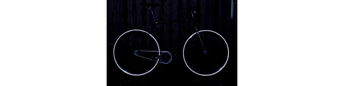 Selbstklebende Streifen fluo/reflektierende 3M™ Motorräder
