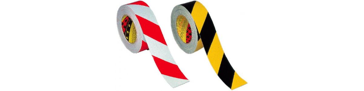 Fitas adesivas refletoras para sinalização