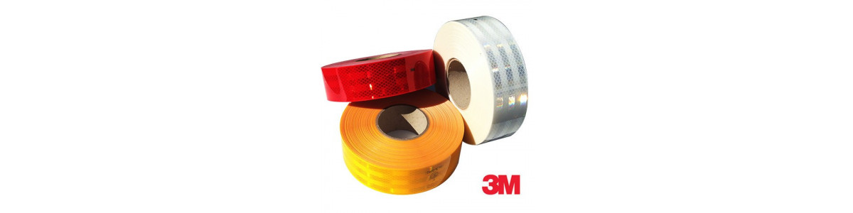 3M™ High visibility Reflective Tapes and panels