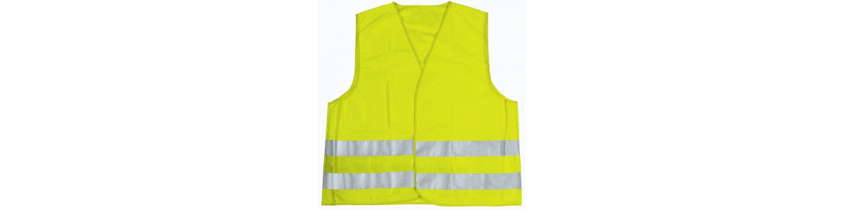 Acessórios para a segurança do motociclista